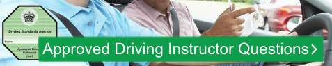 Approved Driving Instructor Revision Questions