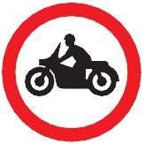no motorbikes