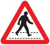 zebra crossing ahead