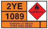 hazardous good warning symbol