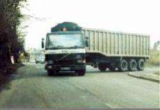 turning lorry