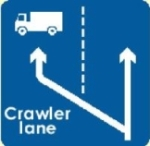 crawler-lane-information-sign