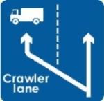 crawler-lane-information-sign