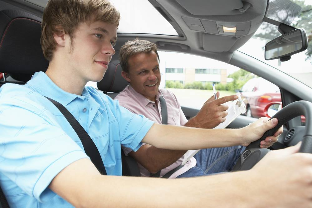 driving lesson male