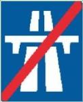 end-of-motorway-information-sign