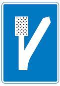 escape-lane-information-sign