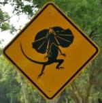 frill-necked-lizard-zone-sign-australia