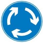 mini-roundabout-sign