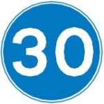 minimum-30-mph-speed-sign