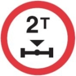no-vehicles-more-than-2-tonnes-sign