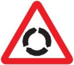 roundabout-warning-sign