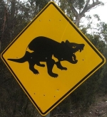 tasmanian-devil-area-sign-australia