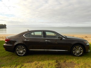 Lexus LS600hL: you struggle to hear the engine sometimes. And it's often just running on the electric motor