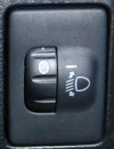 headlight-leveling-dial