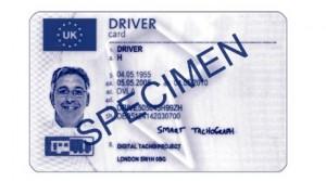 tachograph smart card