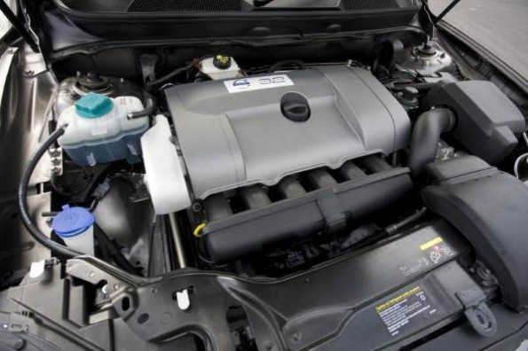 volvo xc90 engine doesn't let you see much