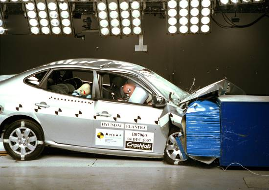 crash test elantra