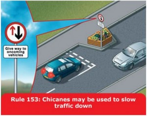 highway-code-rule-153-chicanes