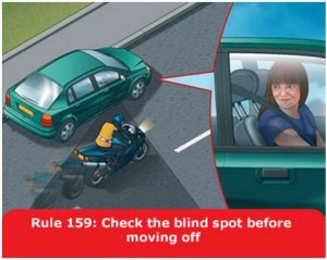 highway-code-rule-159-blind-spot