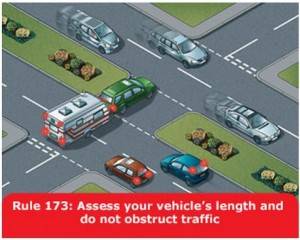 highway-code-rule-173-assess-vehicle-length