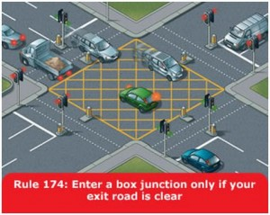 highway-code-rule-174-box-junction