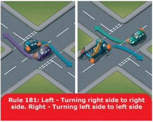 highway-code-rule-181-turning-left-right