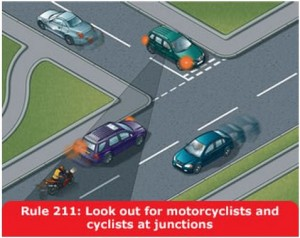 highway-code-rule-211-motorcyclists-cyclists