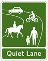 highway-code-rule-218-quiet-lane