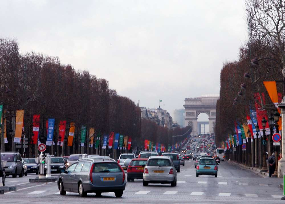 paris traffic