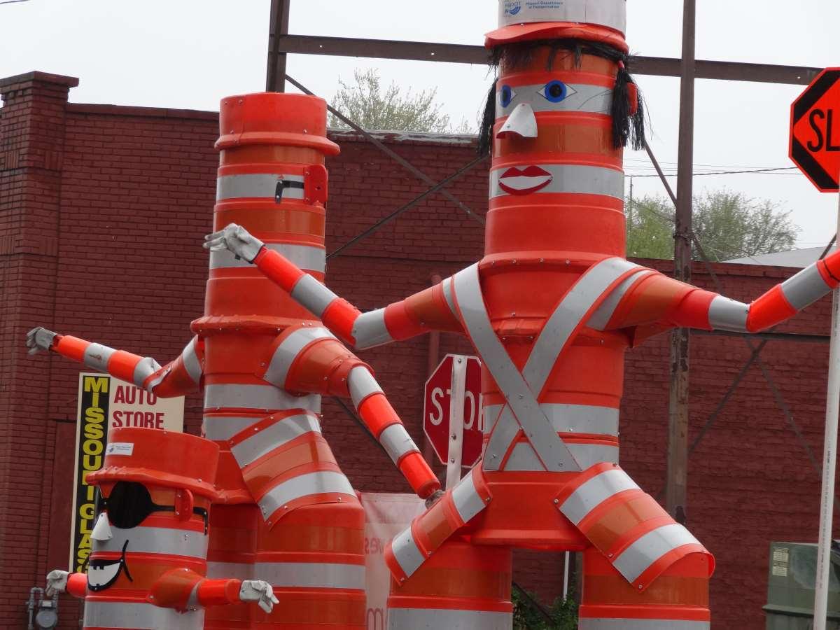 road safety sculptures