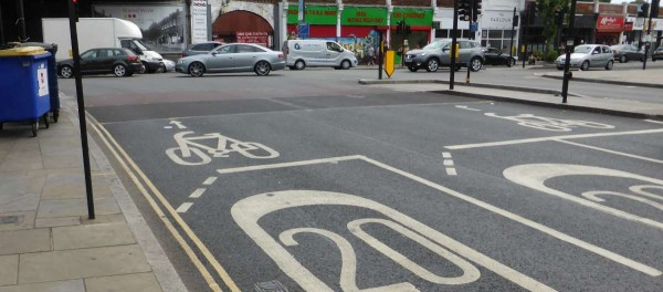 speed limit road marking