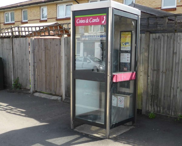 telephone box modern