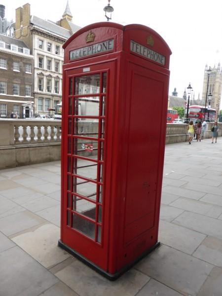 telephone box old