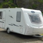 A caravan with a long overhang at the back can suffer from swing out