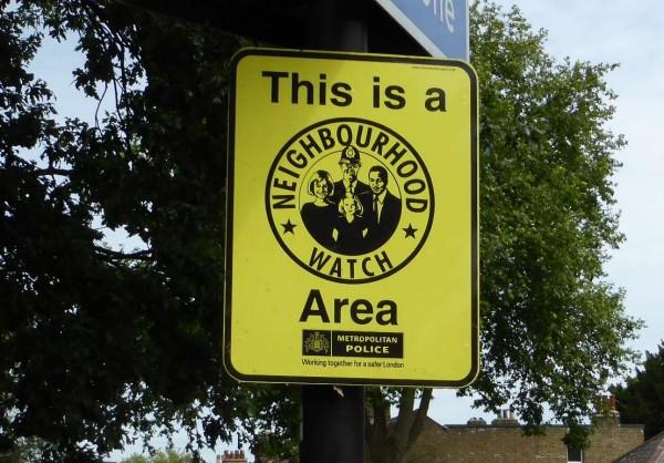 neighbourhood watch sign