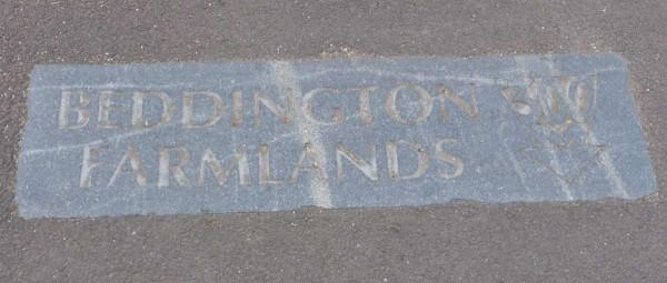 pavement direction sign 2