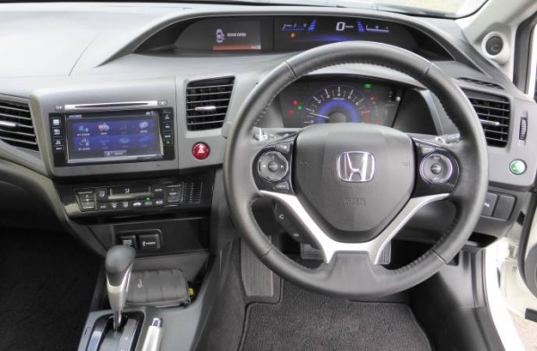 Honda Civic LN 2014 dashboard