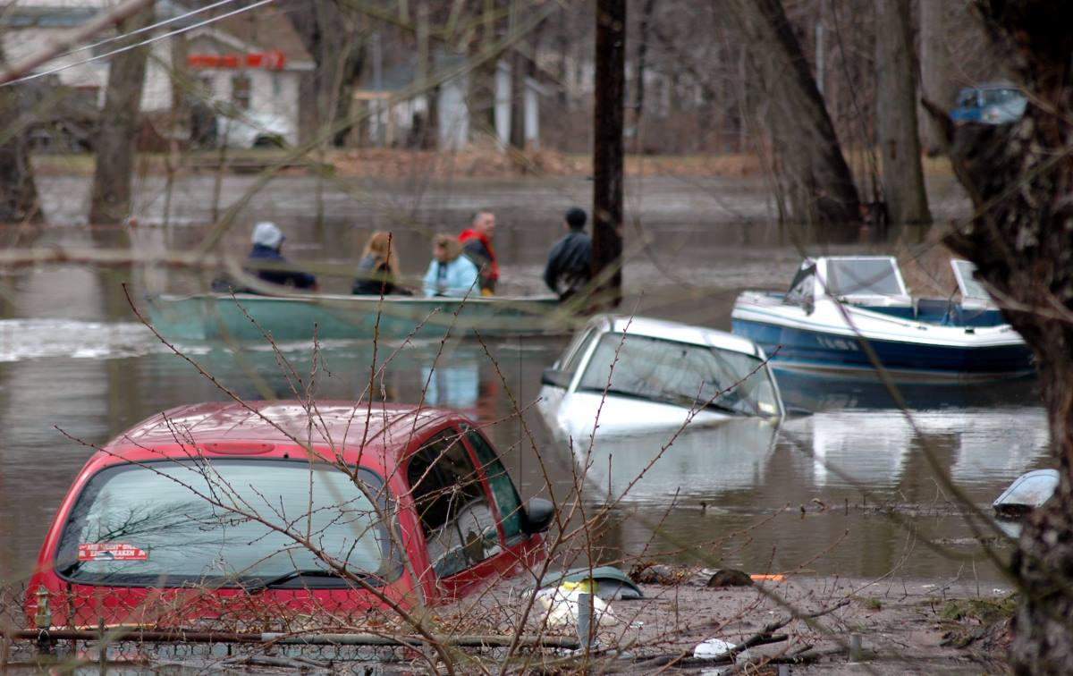 how to drive through a flood or deep water