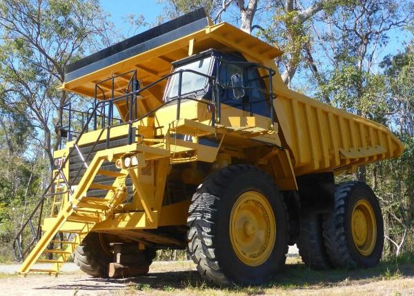 tripper truck mine