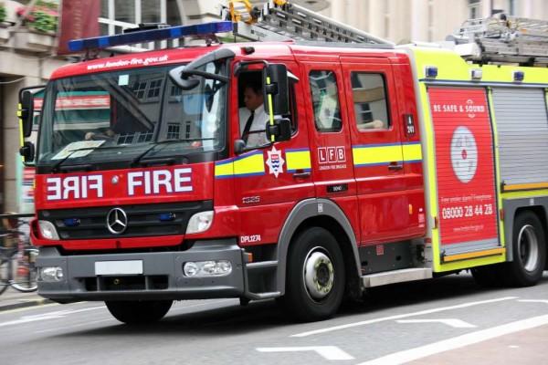 fire engine london