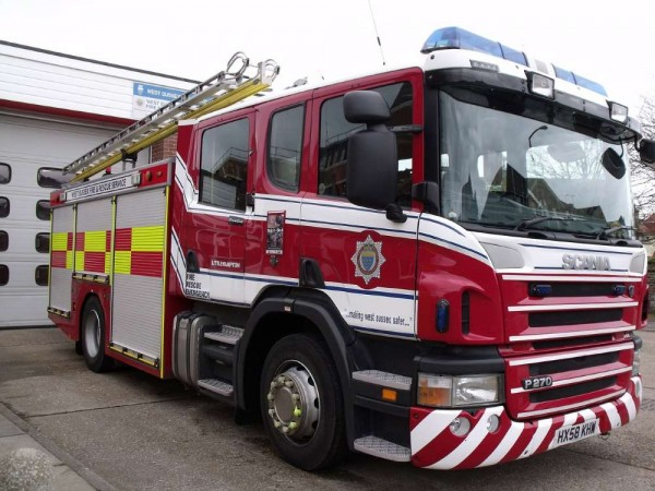 fire enginewest sussex