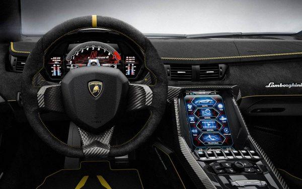 Lamborghini Centenario 2016 interior
